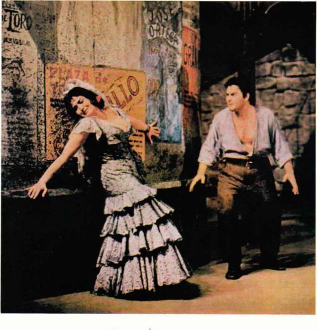 Кармен - Ивана Миксова, Хозе - Мартин Ритцман, Берлинская опера, ГДР.